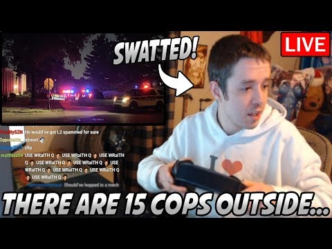 Dellor Gets SWATTED & HANDCUFFED Live On Stream... 15 Police Offers SHOW UP!