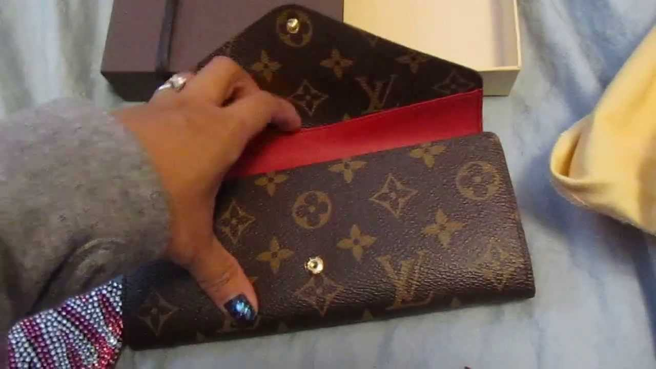 162cd2299be4 Louis Vuitton Josephine Wallet - YouTube