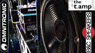 My sound system 3 x 1000 watt - Amplifier t.amp TSA, subwoofer B&C Speakers