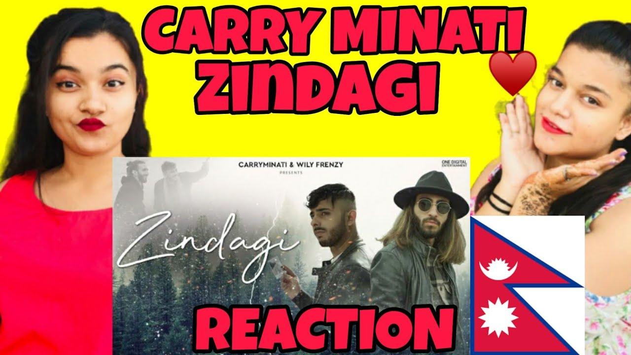 Zindagi - CARRYMINATI X Wily Frenzy | Song reaction