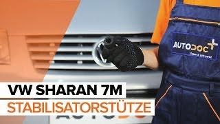 Wie VW SHARAN (7M8, 7M9, 7M6) Halter, Stabilisatorlagerung auswechseln - Tutorial