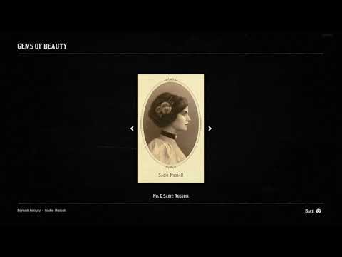 cigarette cards - cigaretové karty - Red Dead Redemption 2 - part 1/2