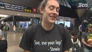 Seattle Storm champion Breanna Stewart returns home