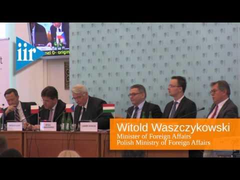 The 25th Anniversary of the Establishment of the Visegrad Cooperation - Panel I