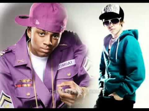 justin bieber ft soulja boy   rich girl  full version  + lyrics new song 2010