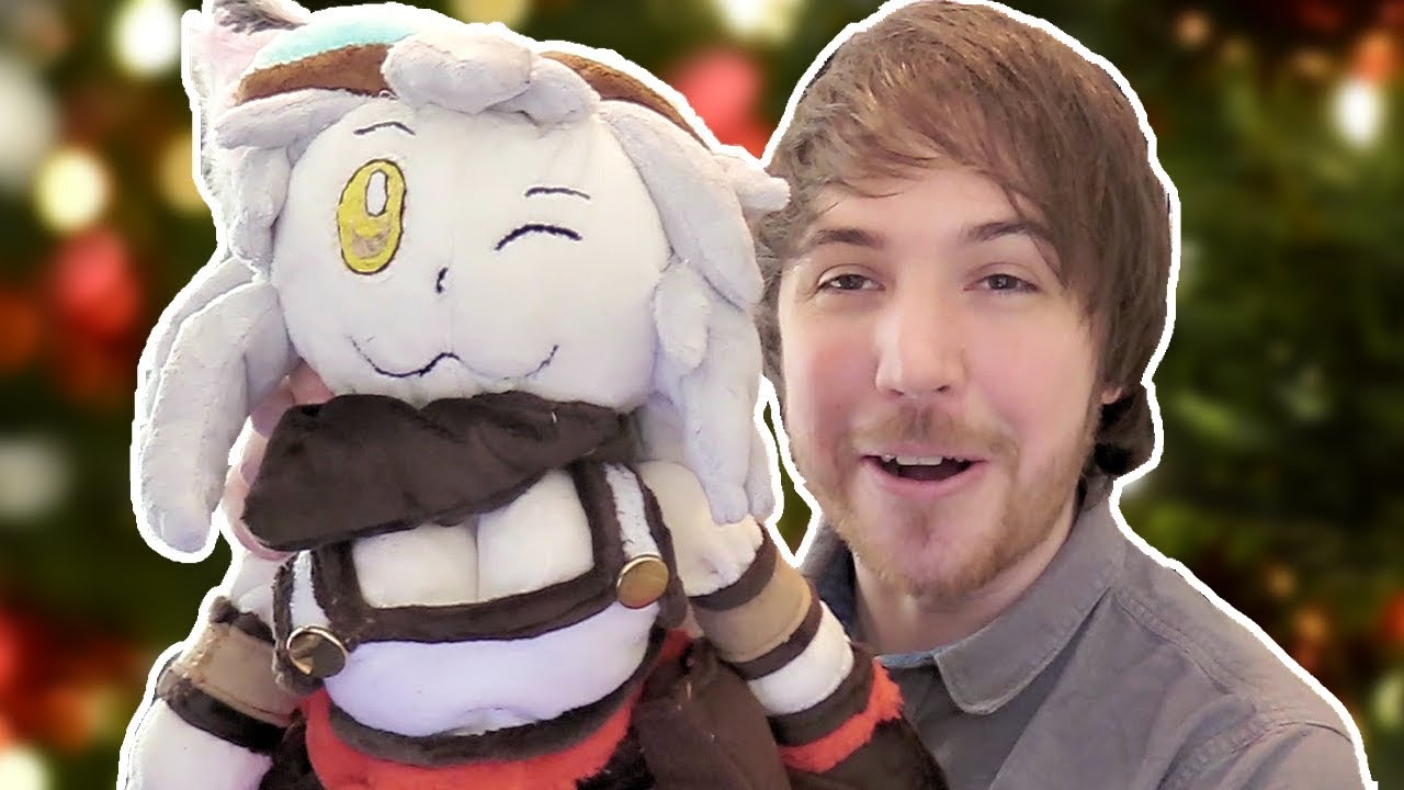i-got-my-own-lily-plush-complete-with-jiggle-physics-christmas-fanmail-unboxing