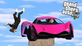 """SZYBKIE SAMOCHODY VS BIEGACZE! w GTA 5 Online Hogaty i EKIPA """"CARS VS RUNNERS"""" #405"""