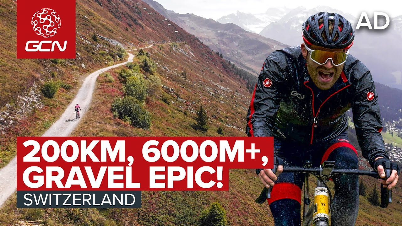 Download Gravel Racing in the Stunning Swiss Alps! | Riding the Gravel Epic