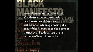James Foreman & The Black Manifesto (The Plan for Reparations )