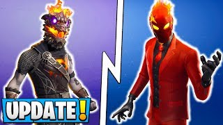 Fortnite 8.20 Skins! Légendes de lave, Evil Suit Set, New Wraps, Emotes, Backblings!