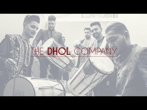 The DHOL Company  |  Groom / Baraat Entrance. 4 X Drummers: FULL VIDEO