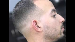 Extra Short Buzz Cut With Fade For Balding Men