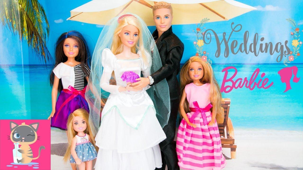 BARBIE AND KEN GET MARRIED – Barbie is Bride Wedding ...
