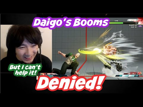 """[Daigo] I Can't Throw Booms!? """"But I Can't Help It Because I Am Guile!"""" [SFV CE]"""