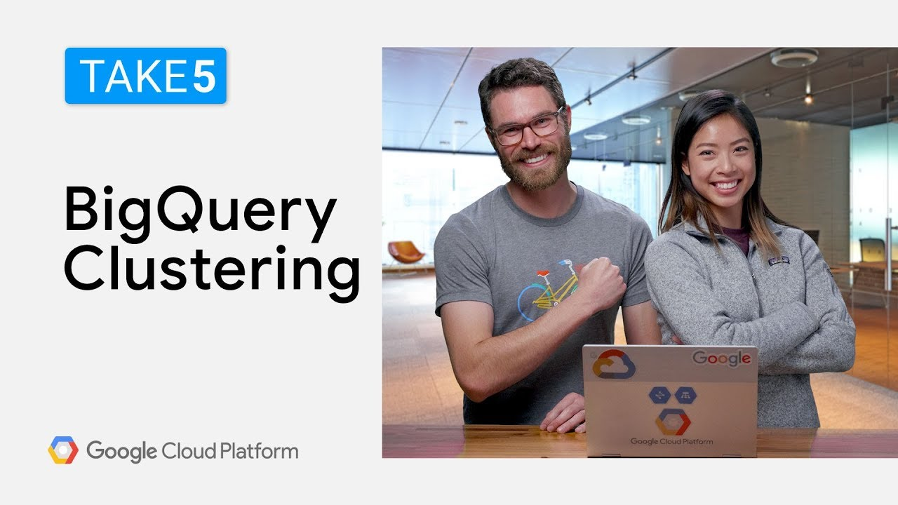 Partitioning and Clustering with BigQuery - Take5