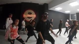 CHRIS BROWN-WRIST   HALLOWEEN CHOREO   ELEMENTS DANCE STUDIO