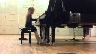 Eva Gevorgyan. Kabalevsky. Variations on ukraine theme
