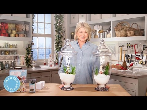 Martha Stewarts Tabletop Holiday Decor Stewart