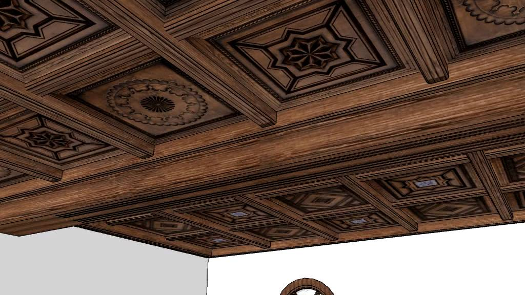Carpinteria de madera santa clara artesonado youtube - Carpinteria santa clara ...