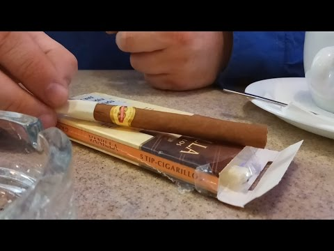 Обзор сигарилл Handelsgold Tip Vanilla