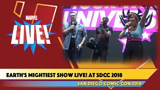 Earth's Mightiest Show LIVE at San Diego Comic-Con 2018