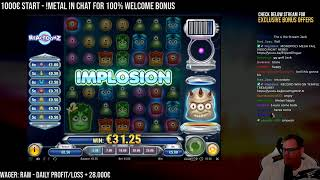Live Casino Slot Stream! - Easybonus.net for exclusive casino offers!