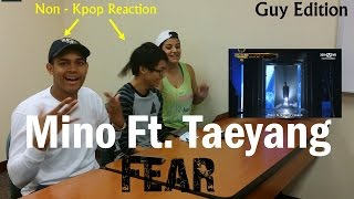 Gambar cover 송민호 (MINO) - 겁 (Fear) (Feat. TAEYANG) - Non-Kpop Fan Reaction - Guy Edition