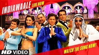 Presenting to you the dance anthem - indiawaale, from happy new year a farah khan film starring shah rukh khan, deepika padukone, abhishek bachchan, sonu s...