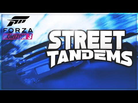 Forza Horizon 3 - Street Tandem Drifting L  Team Sleeping 森林 Ft Shift-Lock Chloe