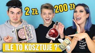 ♦ Chłopaki zgadują ceny kosmetyków! Smaveg, Dominik Rupiński i Agnieszka Grzelak Beauty