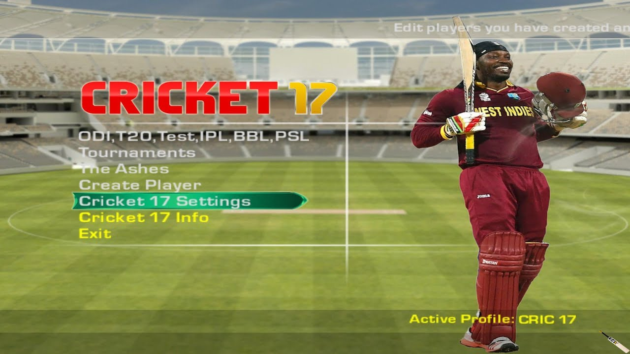 Cricket Video Games - Official EA Site