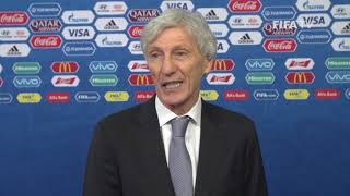 Jose PEKERMAN – Colombia - Final Draw Reaction