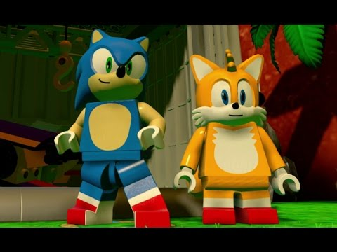 LEGO Dimensions - Sonic Adventure World 100% Guide - All Collectibles