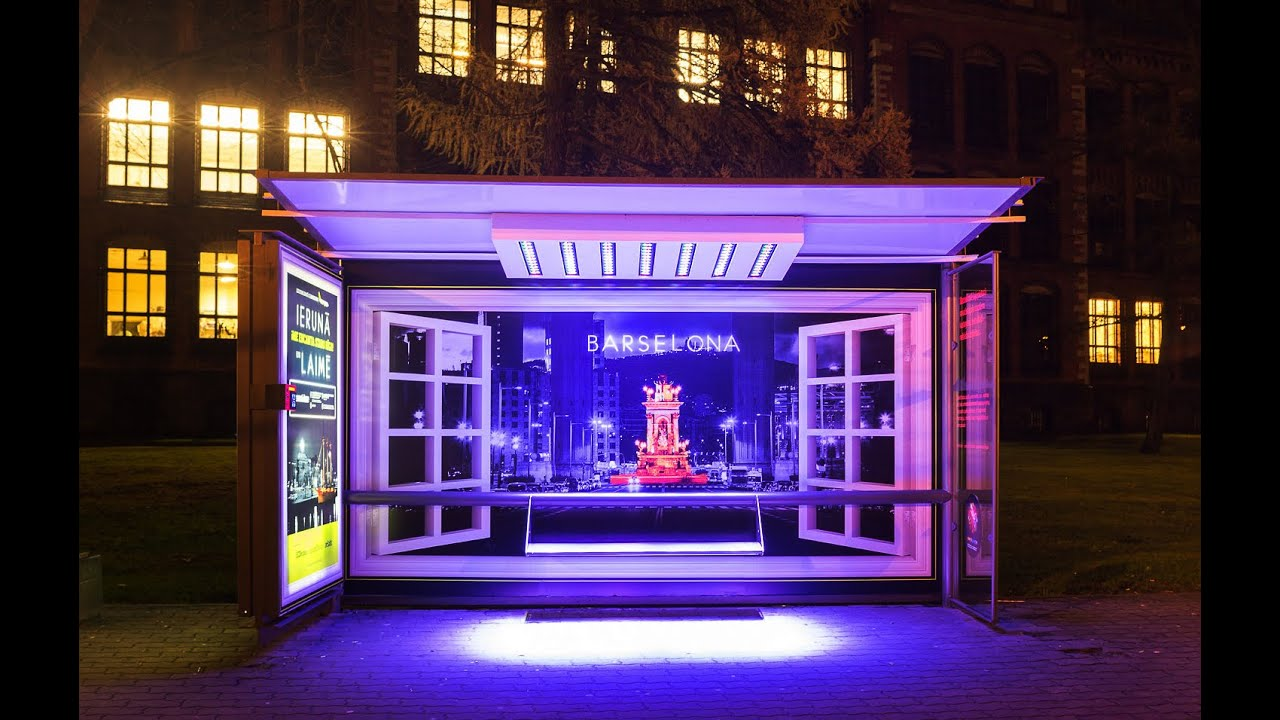 Air Baltic bus shelters recognise a good accent during the Festival of Light | JCDecaux Latvia - YouTube  sc 1 st  YouTube & Air Baltic bus shelters recognise a good accent during the Festival ...