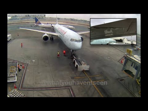 Ground Collision at LAX: United Airlines vs. Air Canada