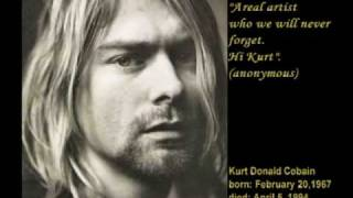 Kurt Cobain - murdered on April 5, 1994 - (HQ)