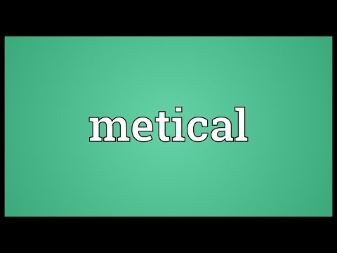 Metical Meaning