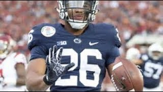 """The best RB in College Football    Saquon Barkley    """"See me fall"""""""