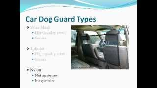 Dog Guards For Cars - Keeping Your Pet Dog Safe With A Car Dog Guard