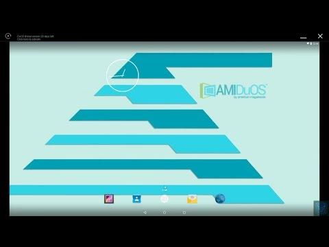 Обзор лучшего эмулятора android на ПК AMI DuOS и тестирование его на asus t100ta в нескольких играх.