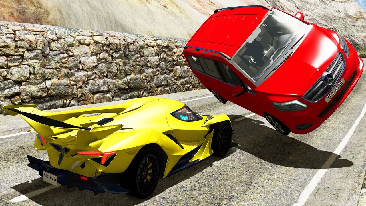 High Speed Car Crashes Fails 2 Beamng Drive Crash