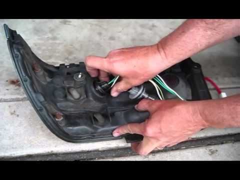 hqdefault 1993 toyota corolla rear light harness replacement and bulbs  at n-0.co
