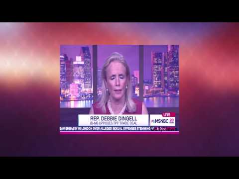 Trade Concerns Unite Workers Of Both Parties - Rachel Maddow