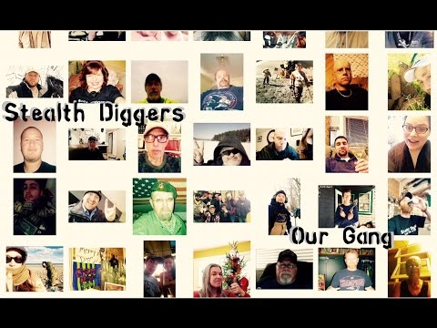 # 68 our gang - SD friends & Family metal detecting community NH winter
