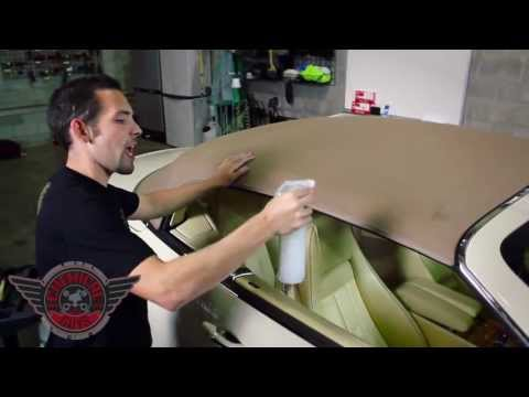 How To: Clean & Protect Convertible Tops - Chemical Guys Detailing Fabric Guard Bentley
