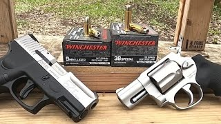 Short Barrels 9mm VS .38 Special Ep.8 Winchester Silvertip
