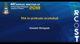 RCOST2018 : THA in protrusio acetabuli