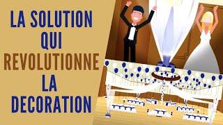 La solution pour votre décoration de salle