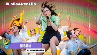 ROSALÍA, J Balvin - Con Altura   Live @ Lollapalooza Argentina 2019