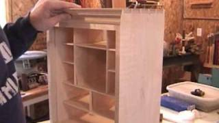 Woodworking: Curly Maple Spice Box Part 16